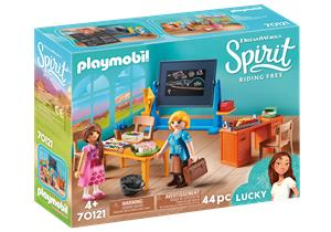 Playmobil Spirit 70121, opettaja Floresin luokka (Miss Flores' Classroom)