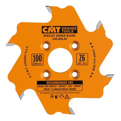 Katkaisuterä puulle CMT 240.006.04; d=100 mm