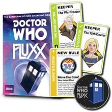 Doctor Who Fluxx: 13th Doctor Expansion, korttipeli