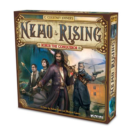 Nemo Rising: Robur the Conqueror, lautapeli