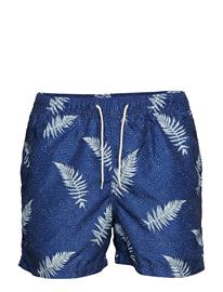 Selected Homme Slhclassic Aop Swimshorts W DARK SAPPHIRE