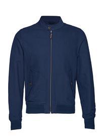 Mango Man Zipper Linen Cotton Jacket NAVY