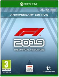 F1 2019 Anniversary Edition, Xbox One -peli