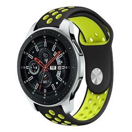 Samsung Galaxy Watch (46mm) kaksisävyinen ontto silikooni mu