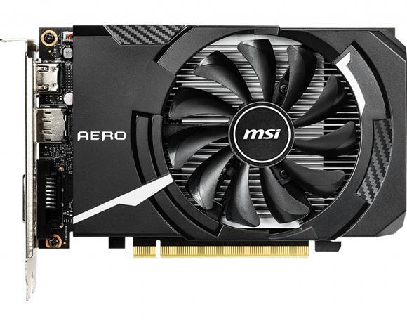 MSI GeForce GTX 1650 Aero ITX OC 4 GB, PCI-E, näytönohjain