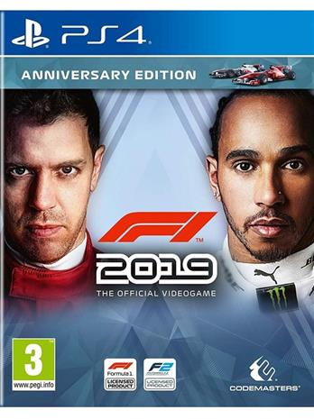 F1 2019 Anniversary Edition, PS4 -peli
