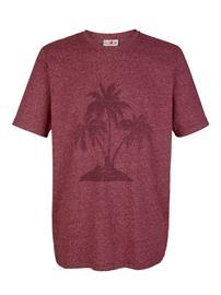 """Roger Kent"""" """"Palmuprintillinen T-paita Vaaleansininen"""
