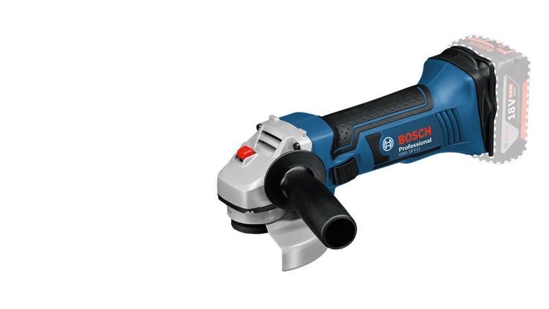 Bosch GWS 18 V-LI Professional (060193A300) 18V, akkukulmahiomakone (ilman akkua ja laturia)