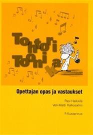Tohtori Toonika : opettajan opas ja vastaukset (Pasi Heikkilä Veli-Matti Halkosalmi), kirja