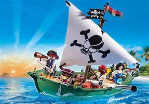 Playmobil Pirates 70151, Pirate Ship with Underwater Motor