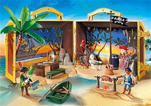Playmobil Pirates 70150, Take Along Pirate Island