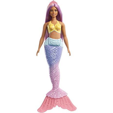 Barbie Dreamtopia FXT09 - Purple Hair Mermaid, nukke