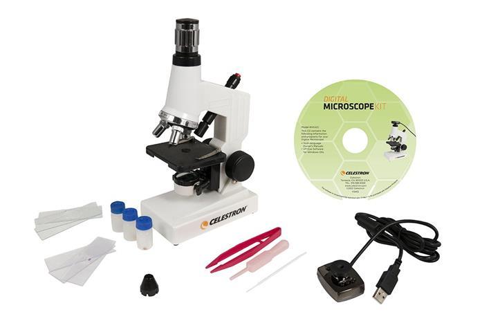 Celestron Digital Microscope Kit, mikroskooppi