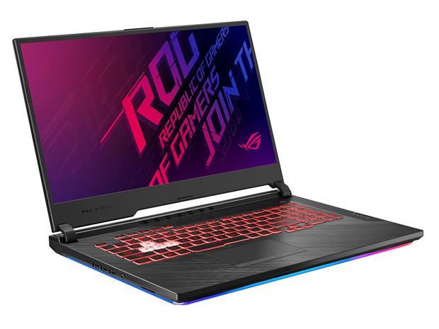 """Asus ROG Strix G731GU-EV010T (Core i7-9750H, 16 GB, 512 GB SSD, 17,3"""", Win 10), kannettava tietokone"""