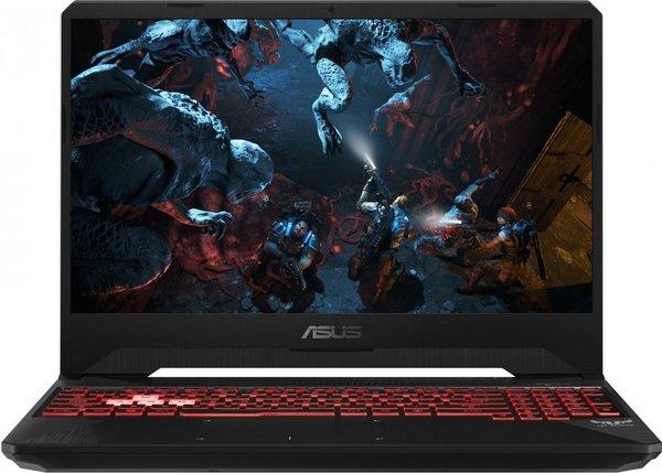 """Asus TUF Gaming FX505GM-ES145T (Core i7-8750H, 16 GB, 1000 GB + 256 GB SSD, 15,6"""", Win 10), kannettava tietokone"""