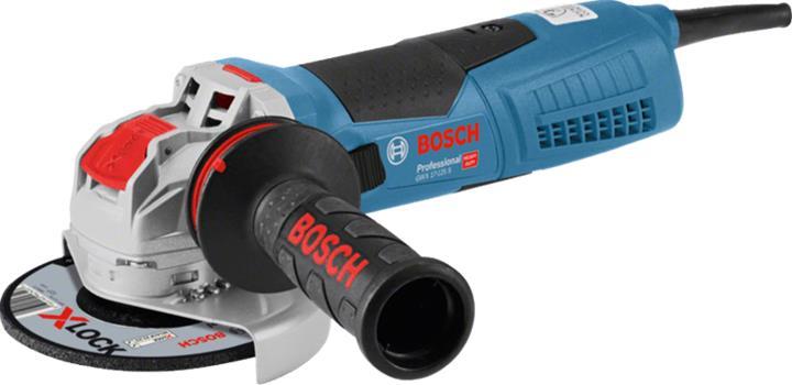 Bosch GWX 17-125 S Professional (06017C4002) 1700W X-LOCK, kulmahiomakone