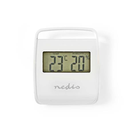 Nedis WEST100WT, lämpö-/kosteusmittari sisäkäyttöön