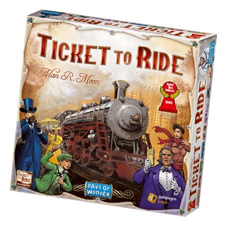 Ticket to Ride USA, lautapeli