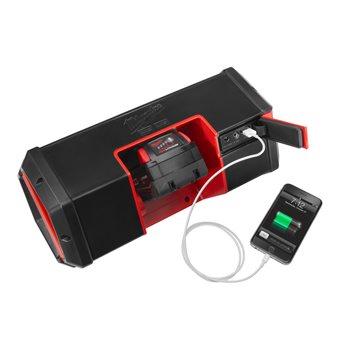 Milwaukee M12-18 JSSP-0 (4933459275) 12/18V, Bluetooth®-kaiutin (ilman akkua ja laturia)