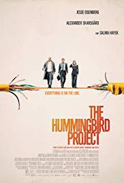 The Hummingbird Project (2018, Blu-Ray), elokuva
