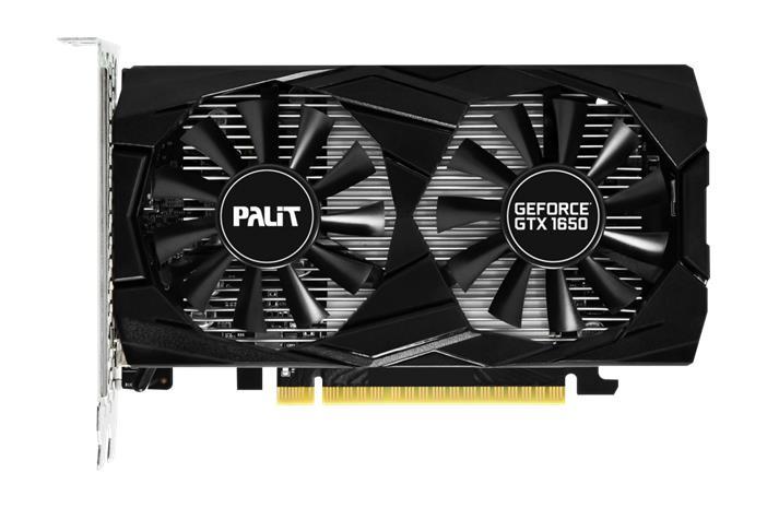Palit GeForce GTX 1650 Dual 4 GB, PCI-E, näytönohjain