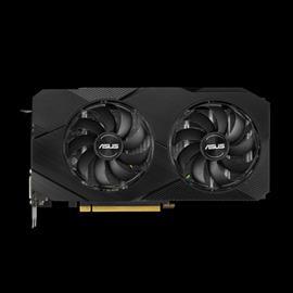 ASUS GeForce RTX 2060 Dual OC EVO 6 GB, PCI-E, näytönohjain