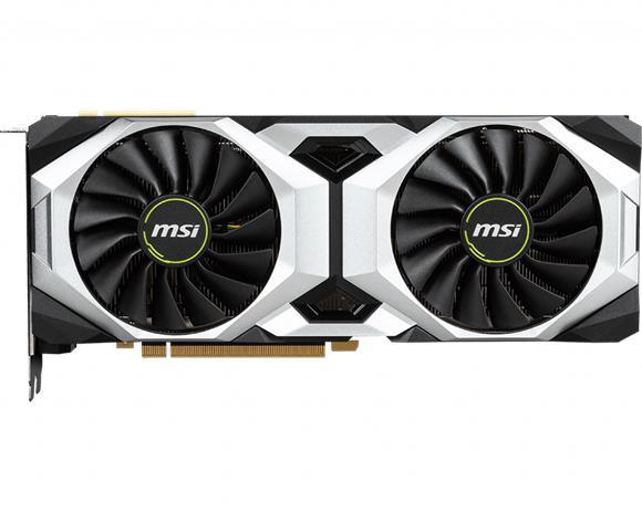 MSI GeForce RTX 2080 SUPER VENTUS OC 8 GB, PCI-E, näytönohjain