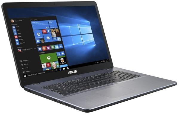 """Asus VivoBook X705MA-GC131T (Pentium N4000, 4 GB, 256 GB SSD, 17,3"""", Win 10), kannettava tietokone"""
