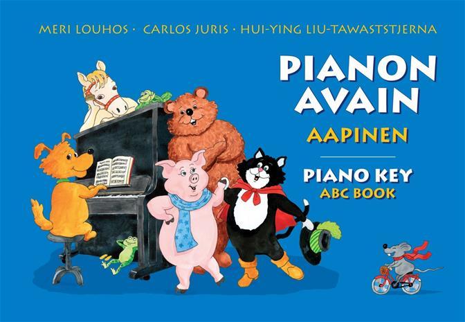 PIANON AVAIN, AAPINEN ( Piano Key ABC Book) (Louhos Meri, Juris Carlos, Liu-Tawaststjerna Hui-Ying), kirja