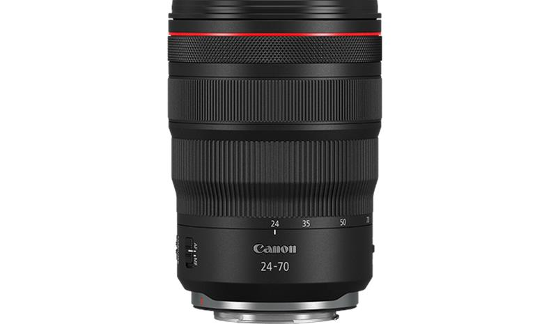 Canon RF 24-70MM F2.8L IS USM, objektiivi