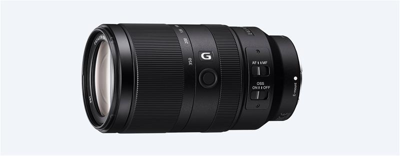 Sony E 70-350 mm F4.5-6.3 G OSS (SEL70350G), objektiivi