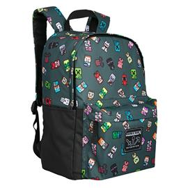 """Minecraft 17"""" Bobble Mobs Backpack"""