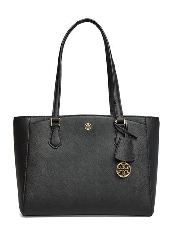 TORY BURCH Robinson Small Tote Bags Shoppers Fashion Shoppers Ruskea TORY BURCH CARDAMOM