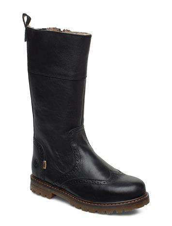 BISGAARD Tex Boot Bootsit Nauhalliset Saapikkaat Musta BISGAARD BLACK