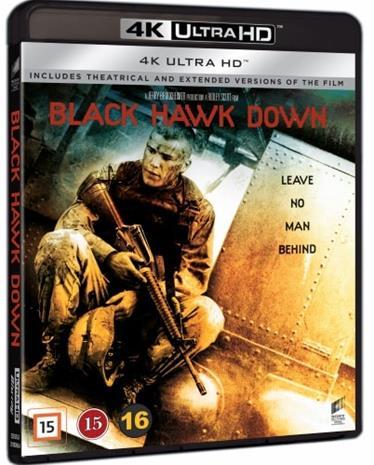 Isku Mogadishuun (Black Hawk Down, 4k UHD + Blu-ray), elokuva