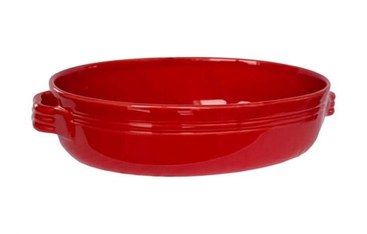 Gerbera Toscana Gratiinivuoka 38 x 26 cm Keramiikka Punainen