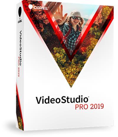 Corel VideoStudio 2019 Pro, videonkäsittelyohjelmisto