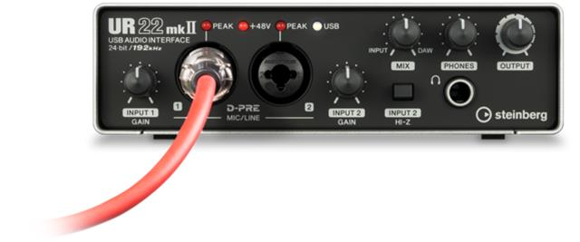 Steinberg UR22mkII, USB-äänikortti