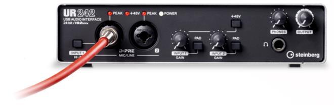 Steinberg UR242, USB-äänikortti