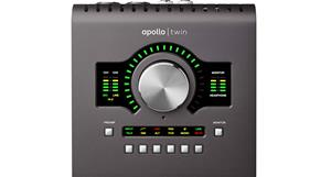 Universal Audio Apollo Twin Solo MKII, äänikortti Thunderbolt-väylään