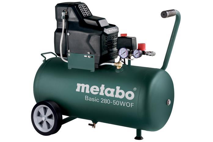 Metabo Basic 280-50 WOF (601529000) 1700W 50L, kompressori