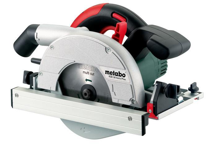 Metabo KSE 55 Vario Plus (601204700) 1200W, pyörösaha + MetaLoc-laukku