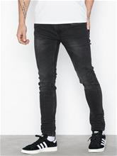 Only & Sons onsWARP Black Washed Ld Pk 0899 Noo Housut Musta