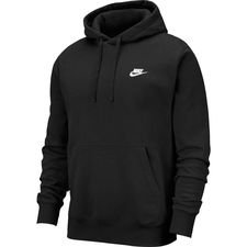Nike Huppari NSW Club - Musta/Valkoinen
