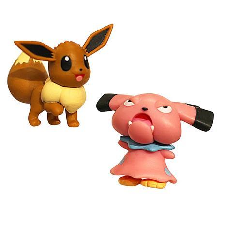 Pokemon - Figure Battle Pack - 5 cm - Snubull and Eevee (95022)