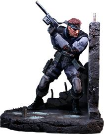 Metal Gear Solid (Solid Snake) RESIN Statue