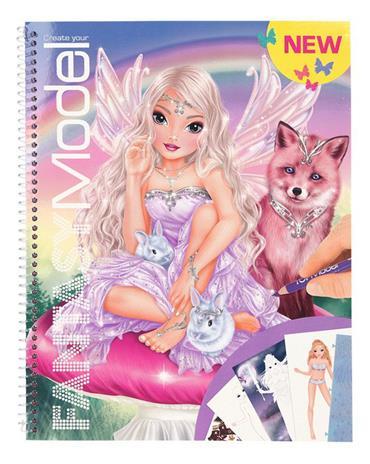 Top Model - Fantasy Designbook w/ stickers (0410726)