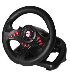 Numskull Multi Format Steering Wheel, PC/PS3/PS4/Xbox One -rattiohjain ja polkimet