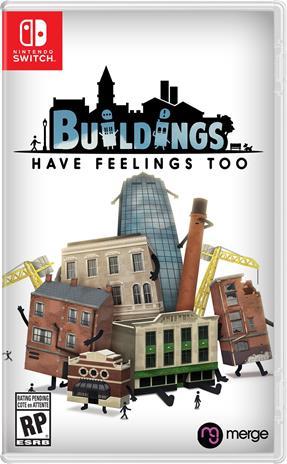 Buildings Have Feelings Too!, Nintendo Switch -peli