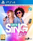 Let's Sing 2020 + 2 mikrofonia, PS4 -peli